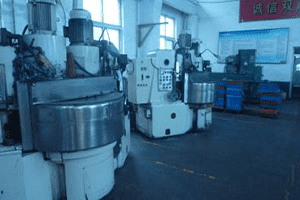 Double-spindle disc grinding machine