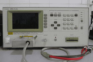 Agilent 4285A impedance tester