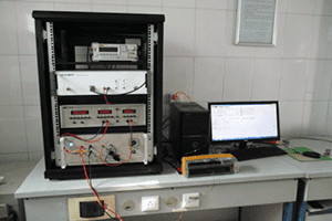 Large core power consumption tester